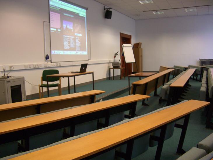 Ashton building lecture theatre