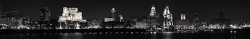 Liverpool Waterfront at Night